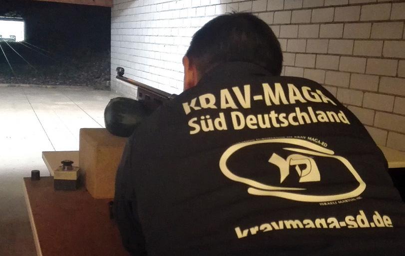 Krav Maga beim Vereinsschießen